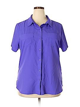 Cabela's Short Sleeve Blouse Size 2X (Plus)