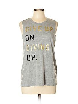 Chin Up Sleeveless T-Shirt Size L