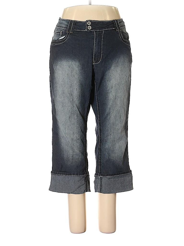a20e41e1219 Bongo Solid Dark Blue Jeans Size 20 (Plus) - 80% off