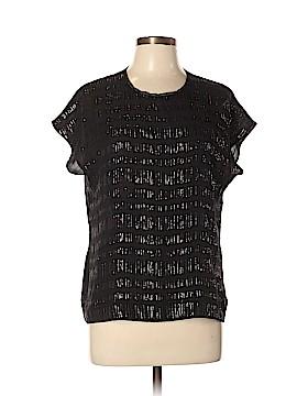 Reiss Short Sleeve Silk Top Size 10