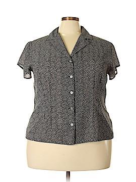 Covington Short Sleeve Blouse Size 22 (Plus)