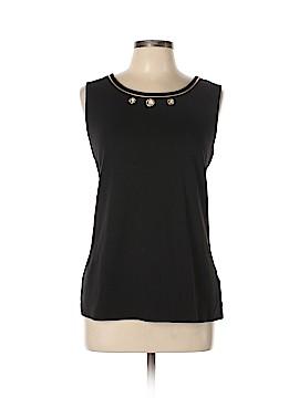 Quacker Factory Sleeveless T-Shirt Size L