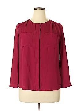 Ann Taylor LOFT Outlet Long Sleeve Blouse Size XL (Petite)