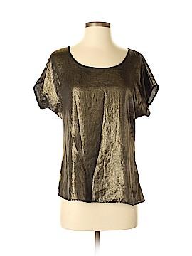 Olive and Oak Short Sleeve Blouse Size M