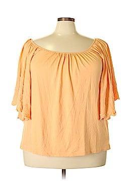 Jessica London Short Sleeve Top Size 22/24 (Plus)