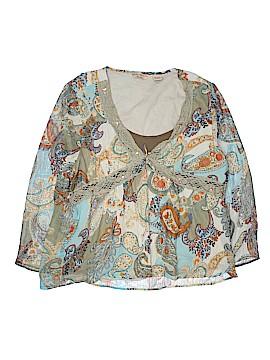 Quizz Woman Long Sleeve Blouse Size 20 (Plus)