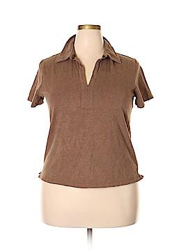Venezia Short Sleeve Top Size 18 - 20 Plus (Plus)