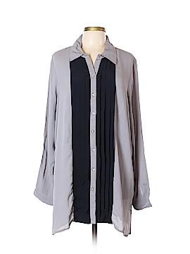 Ulla Popken Long Sleeve Blouse Size 16 - 18