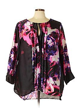 Melissa Masse 3/4 Sleeve Blouse Size 4X (Plus)