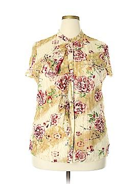 Venezia Short Sleeve Blouse Size 18-20 Plus (Plus)