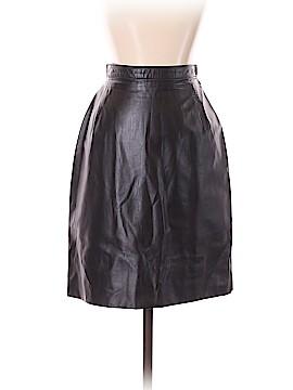 MaxiMa U.S.A. Faux Leather Skirt Size M