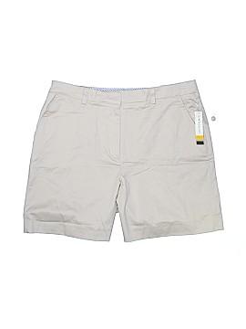 Kim Rogers Khaki Shorts Size 14