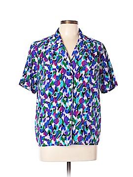 Impressions Short Sleeve Blouse Size 12