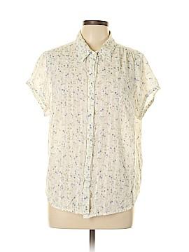 Jordache Short Sleeve Button-Down Shirt Size 3X (Plus)
