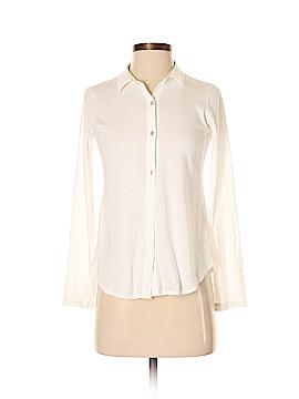 Eileen Fisher Long Sleeve Button-Down Shirt Size XXS (Petite)