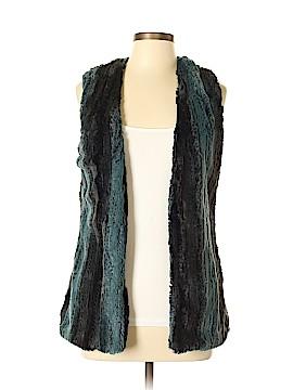 5/48 Faux Fur Vest Size M