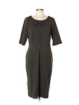 Beige by ECI Casual Dress Size L