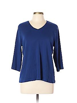 St. John's Bay 3/4 Sleeve T-Shirt Size XL