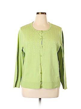 Style&Co Silk Cardigan Size 2X (Plus)