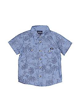 Lucky Brand Short Sleeve Button-Down Shirt Size 2T