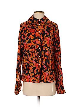 Liz Claiborne Long Sleeve Button-Down Shirt Size 4