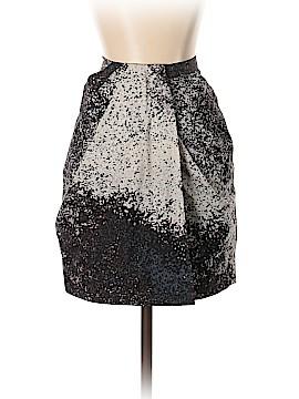 Halston Heritage Silk Skirt Size 4