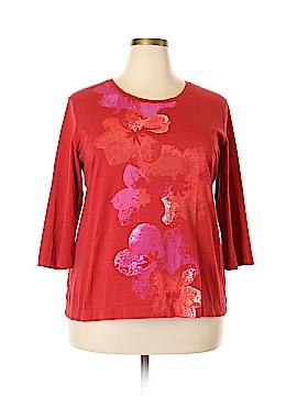 Eddie Bauer 3/4 Sleeve T-Shirt Size XXL