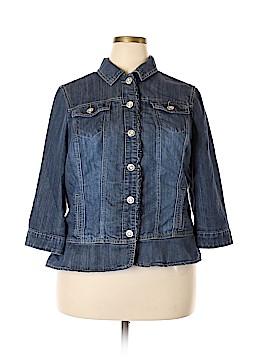 DressBarn Denim Jacket Size 2X (Plus)