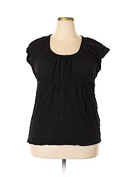 Lizwear by Liz Claiborne Short Sleeve Blouse Size XXL