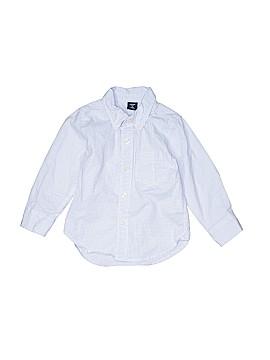 Baby Gap Long Sleeve Button-Down Shirt Size 2T