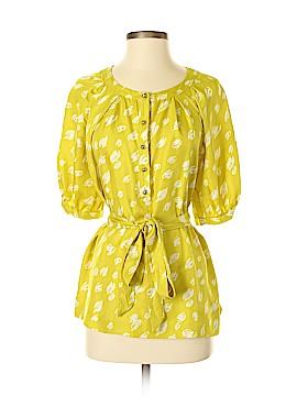 Kate Spade New York Short Sleeve Silk Top Size M