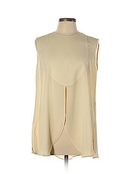 Giorgio Armani Short Sleeve Silk Top Size 10
