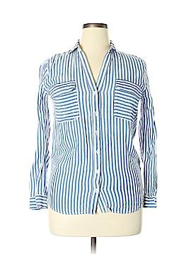 Blu Pepper Long Sleeve Blouse Size M