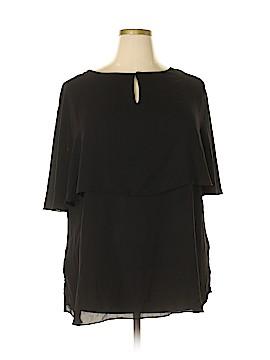 Milano Short Sleeve Blouse Size 2X (Plus)