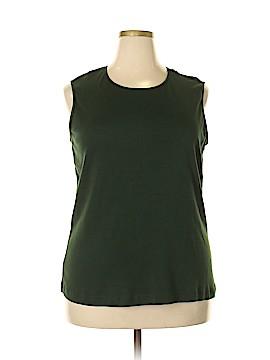 Cj Banks Sleeveless T-Shirt Size 2X (Plus)