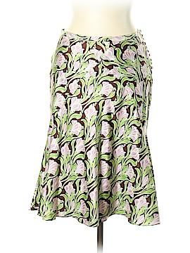 Peter Som Silk Skirt Size 10