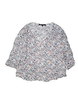Marina Luna 3/4 Sleeve Blouse Size 2X (Plus)