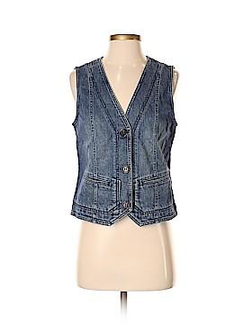 Liz Claiborne Denim Vest Size S