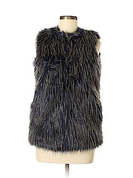 Mossimo Faux Fur Vest Size S