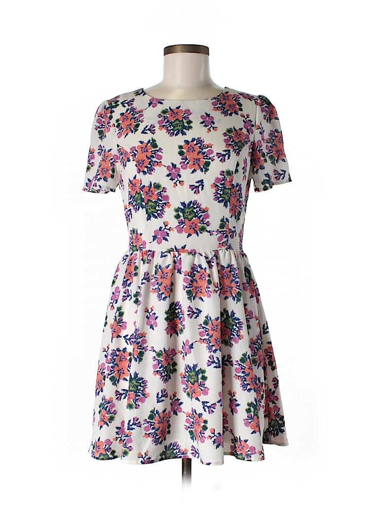 Maison Jules Women Casual Dress Size M