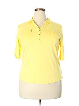 Croft & Barrow Short Sleeve Button-Down Shirt Size XXL