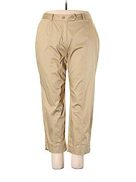 AK Anne Klein Khakis Size 18W (Plus)