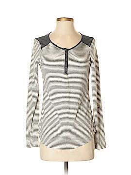 Maison Jules Long Sleeve Top Size S