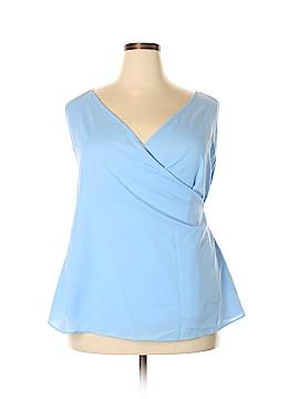 City Chic Sleeveless Blouse Size 22 Plus (L) (Plus)