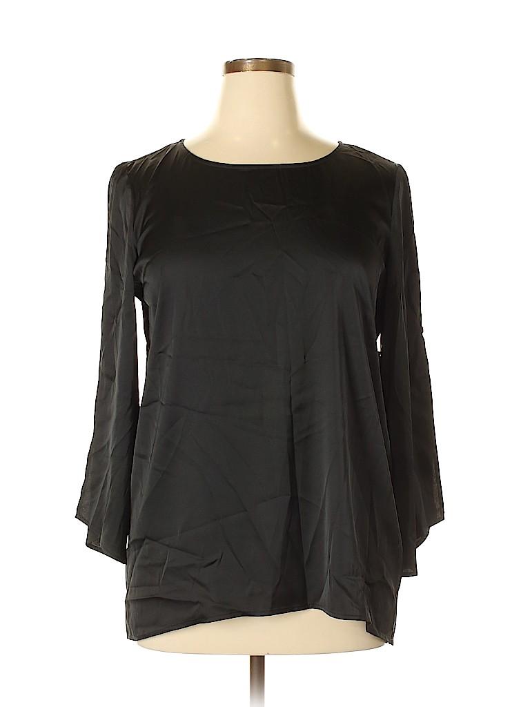 Preston & York Women 3/4 Sleeve Blouse Size L