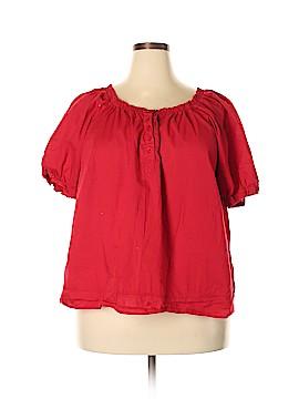 Venezia Short Sleeve Blouse Size 22 - 24 Plus (Plus)