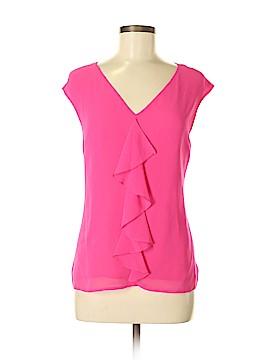 CeCe Short Sleeve Blouse Size S