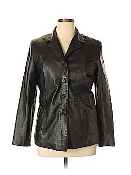 Style&Co Leather Jacket Size L