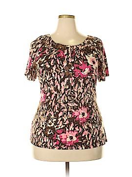 Liz & Co Short Sleeve Top Size 2X (Plus)