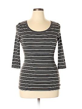 Cynthia Rowley TJX 3/4 Sleeve T-Shirt Size L